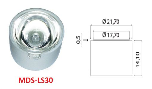 power led lens mercek imalat